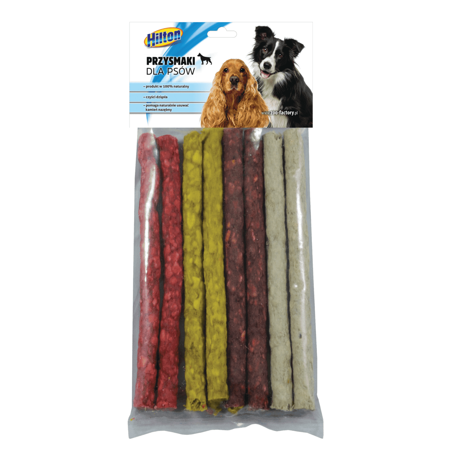 Hilton pałeczki cienkie mix przysmak dla psa 8szt