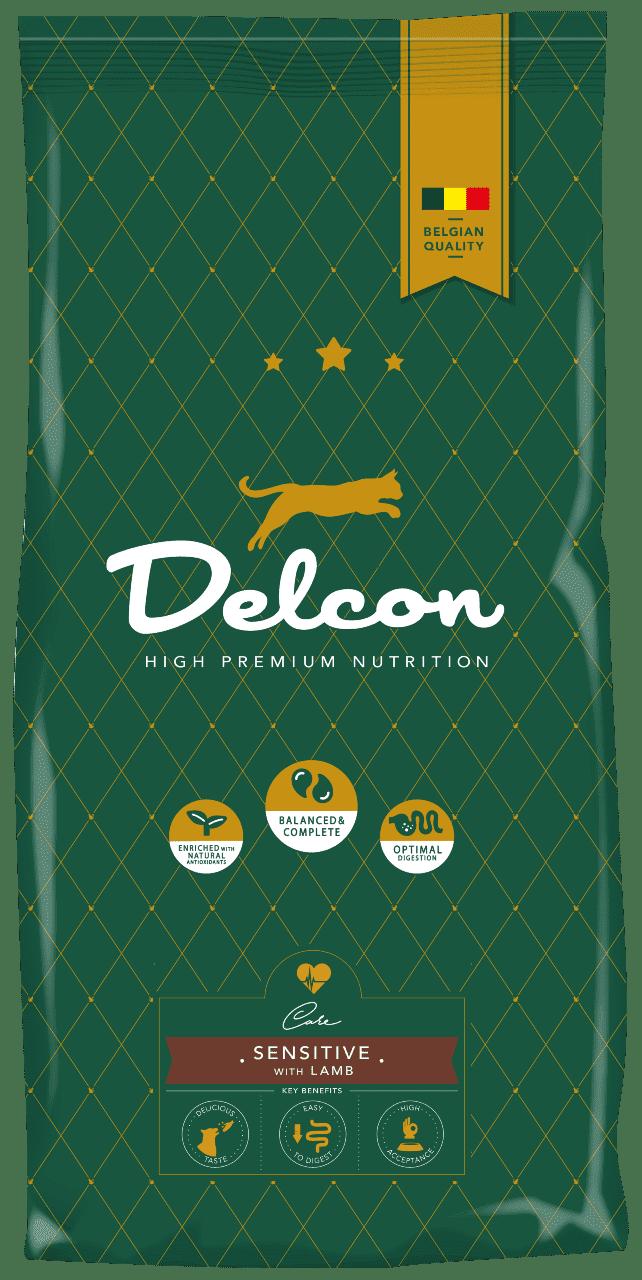 Delcon cat sensitive with lamb 1,75kg