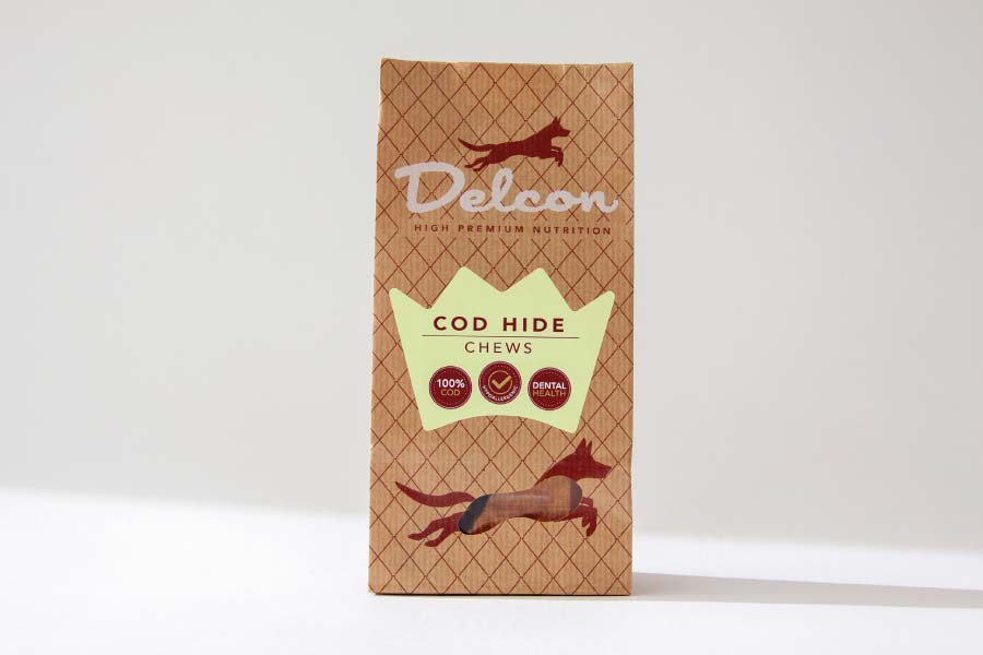 Delcon Premium Cod Chew gryzaki premium z dorsza 40g