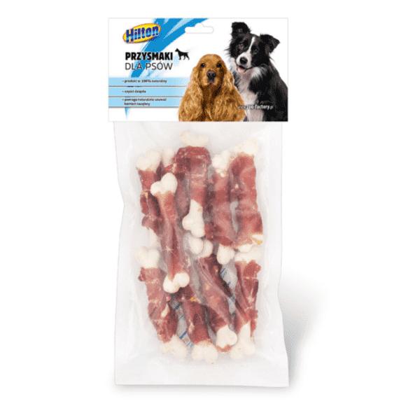 Hilton kostki z wapniem i mięsem kaczki przysmak dla psa 10szt