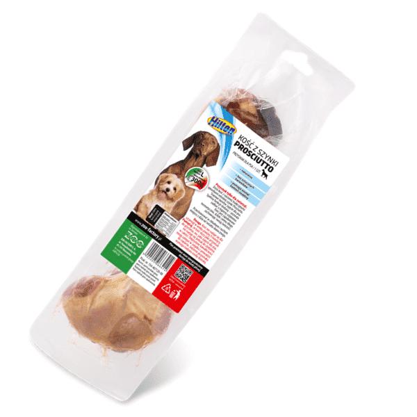 Hilton kość z szynki prosciutto duża - przysmak dla psa