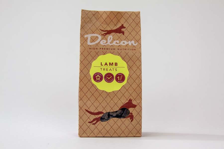 Delcon Premium Lamb Treats przysmaki premium z jagnięciny 150g