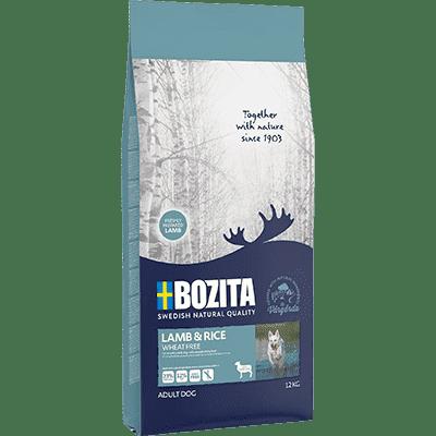 Bozita Lamb&Rice Wheat Free 12kg - jagnięcina i ryż bez pszenicy