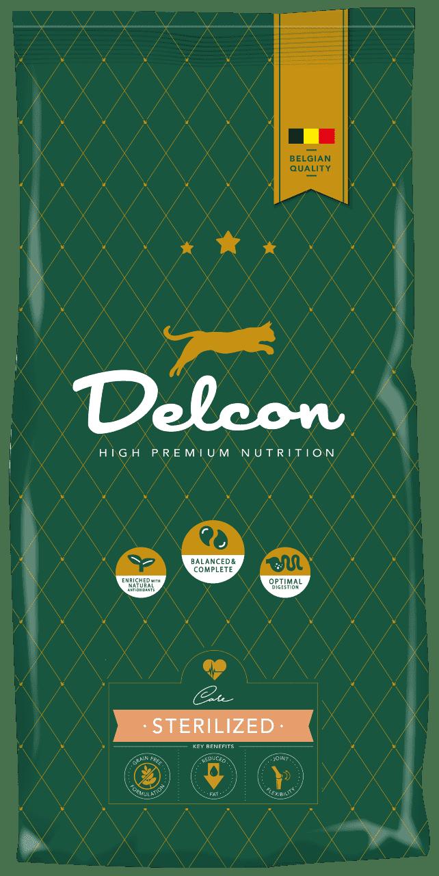 Delcon cat sterilized dla kotów po sterylizacji 1,75kg