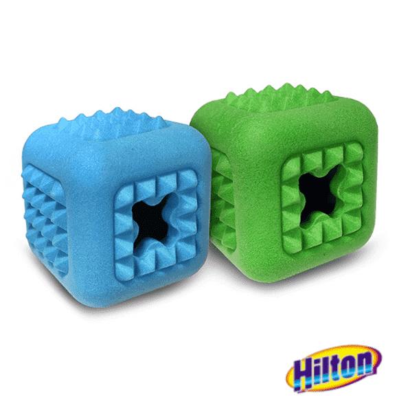 Hilton Dental cube 7cm kostka zabawka dla psa