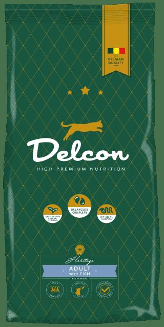 Delcon cat adult rich in fish 8,75kg