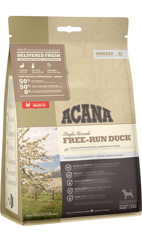 Acana Free-run Duck Dog 340g