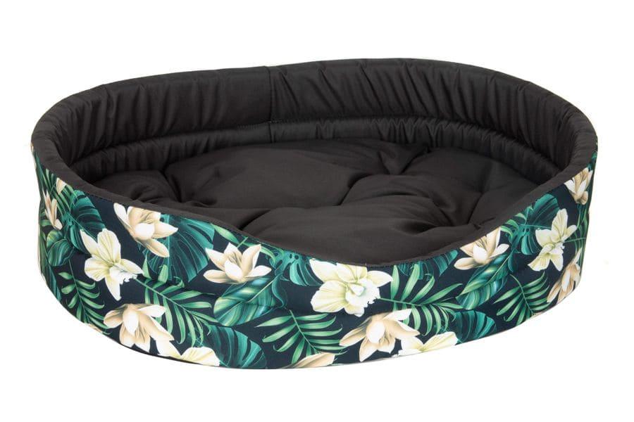 Chico Legowisko Jungle owalne z poduszką 44x38cm dla psa lub kota