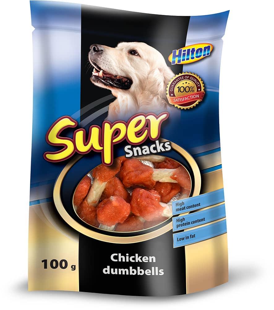 Hilton kurczakowe maczugi przysmak dla psa 100g