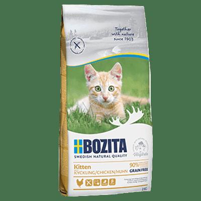 BOZITA Kitten Grain Free Chicken karma dla kociąt 2 kg