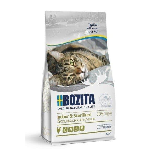 BOZITA Indoor & Sterilised z kurczakiem 400g